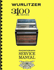 MANUALE COMPLETO  (manual) JUKEBOX WURLITZER 3400-3410-3460 STATESMAN (juke box)