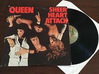 Queen - Sheer Heart Attack 1st Press Vinyl US '74 Record LP Elektra ORG VG+/VG+