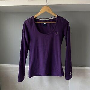 Ladies GAASTRA LOng Sleeve Top Blouse Purple Size M
