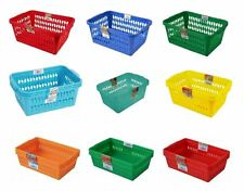 Plastic Storage Baskets Small Medium Large Kitchen Home Office Study