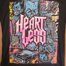 BNWT HEARTLESS  GRAND THEFT ZOMBIE MENS TSHIRT  SIZE XL  SKATER