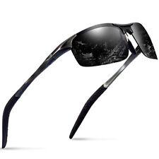 New Aluminium Glass Polarized Sunglasses for Men Outdoor Driving Sun Glasses