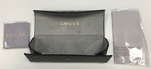 Gucci Foldable Spectacle Case & Cloth