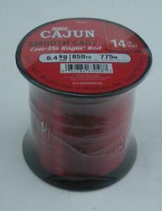 Zebco 2136289 Cajun Red Low Visibility Line Quarter Lb Spool 14 Lb. Test 25894