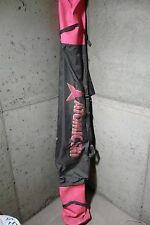 Vintage Atomic Ski Bag dark gray and Pink 2 pair of skis
