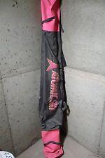 Vintage Atomic Ski Bag dark gray and Pink 2 pair of skis