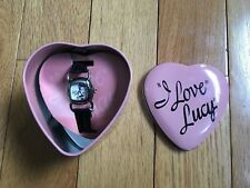 I Love Lucy Fossil WATCHwith charm