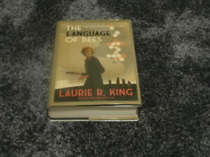 LAURIE R. KING: THE LANGUAGE OF BEES: SIGNED UK 1ST EDITION HARDCOVER 1/1