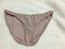 Simply Emma Women's Panty Size XXL Beige Stretchy Bikini Sissy Knickers