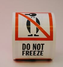 Do Not Freeze Penguin Labels 3 X 4 500 Per Roll Shipping Label