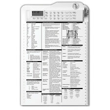 Prestige Medical Nurse Assist Clipboard, White, 3309