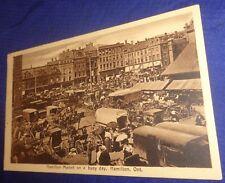 SE1035 Vtg Postcard Hamilton ON Market Reesor Cedar Grove 1914