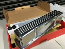 RPC R6130  SBC ALUM TALL VALVE COVERS  BALL MILLED POLISHED