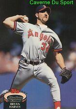 410  BRYAN HARVEY  CALIFORNIA ANGELS TOPPS BASEBALL CARD STADIUM CLUB 1992