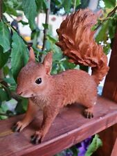 More details for real life squirrel from vivid arts, ultra realistic, garden home luxe ornament