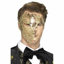 Metal Half Costume Masks
