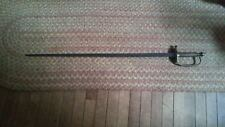 antique double edged rapier blade/long sword - Ames Mfg Co, Chicopee MA