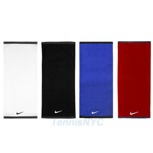"NIKE Fundamental Tennis Towel Swoosh Logo 31"" x 14"" Sports Towels"