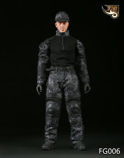 Fire Girl Toys 1/6 Male Python Camouflage Uniforms Clothes Field Suits Set FG006