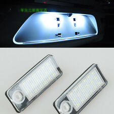 2x Error Free LED number License Plate Light For Audi A4 B5 Avant 99-01 A6 avant