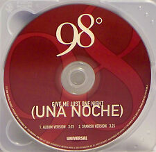 Give Me Just One Night [Una Noche] 98 Degrees (CD, 2000, Universal) SINGLE