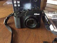 Nikon COOLPIX P7800 12.2MP Digital Camera - Black