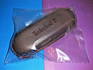 NEW Timberland Sunglasses Eye Glasses Hard Zipperd Case Brown Felt Lined~ L💥💥K