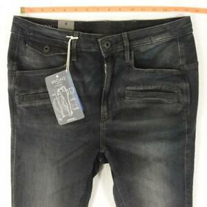 NEW Womens G-Star DADIN 3D LOW BOYFRIEND Stretch Grey Jeans W29 L32 Size 10 BNWT