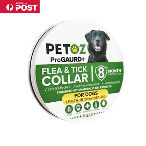 PETOZ Dog Flea Collar Tick Treatment For Dogs - All Sizes