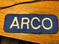"ARCO  Cloth Patch Vintage 4"""