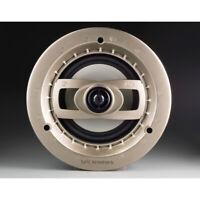 "Lyric LS6.5P 6.5"" 2-Way 8 ohm 90W In-Ceiling Speakers w/ Magnetic Grilles (Pair)"