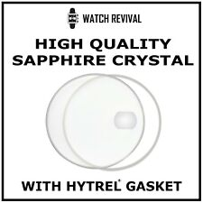 HIGH QUALITY SAPPHIRE CRYSTAL GLASS FOR ROLEX SUBMARINER 16610 WITH GASKET