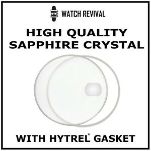 HIGH QUALITY SAPPHIRE CRYSTAL GLASS FOR TUDOR PRINCE DATE 74000 N WITH GASKET