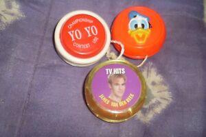 3 Vintage 90s Collectable Classic Toys Yo-Yos