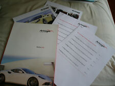 Artega GT Press Information brochure 2008 includes CD English & German text