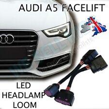 Audi A5 8T A4 8K FACELIFT HALOGEN TO BI XENON HEADLIGHT ADAPTER HARNESS LOOM