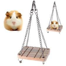 Wooden Ladder Bird Budgie Canary Hamster Gerbil Mouse Rats Cage Springboard Toy