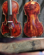 Fine +150y 4/4 Antique Baroque Austrian Violin 19th + VIDEO Fiddle ヴァイオリン скрипк