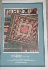 "New Spice Quilt Pattern 50"" x 50"" Marinda Stewart For Michael Miller"