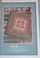 """NewSpice Quilt Pattern 50"""" x 50"""" Marinda Stewart For Michael Miller"""
