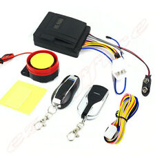 Motorcycle Motorbike Anti-theft Security Alarm Remote Control Sensor System 12V