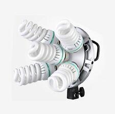 Godox TL-5 E27 5 Socket Multi-Holder Tricolor Light Stand for Softbox Bulbs