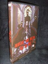 Where The Dead Go To Die (DVD, 2012) Mint Disc!•USA Made!•No Scratches!