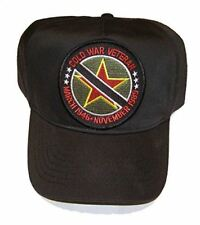 COLD WAR VETERAN HAT CAP MARCH 1946 NOVEMBER 1989 US SOVIET UNION MARSHALL PLAN