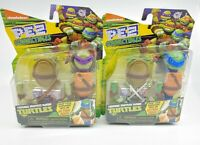 Leonardo & Donatello Teenage Mutant Ninja Turtles PEZ CONNECTIBLES (New)