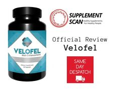 VELOFEL MALE ENHANCEMENT 60 CAPSULES - HIGHER SEX DRIVE INCREASE LIBIDO