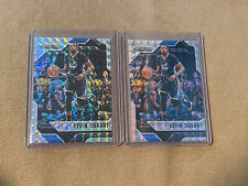 2016-17 Mosaic Kevin Durant 2X Silver Prizm Refractor LOT Warriors