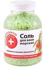 Bath salt with Eucalyptus Essential oil 1000g Home Doctor 7980