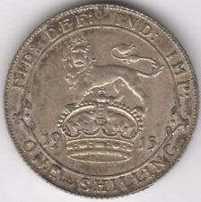 More details for 1915 george v silver one shilling   british coins   pennies2pounds
