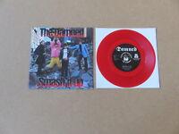 "THE DAMNED Smash It Up BIG BEAT 7"" RARE 1982 ORIGINAL UK RED VINYL PRESSING NS76"